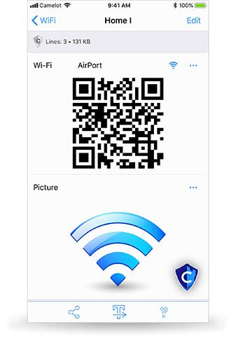 Camelot WiFi file